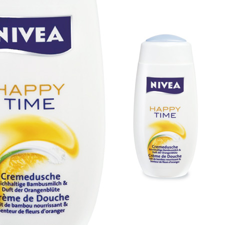 label nivea happy-time